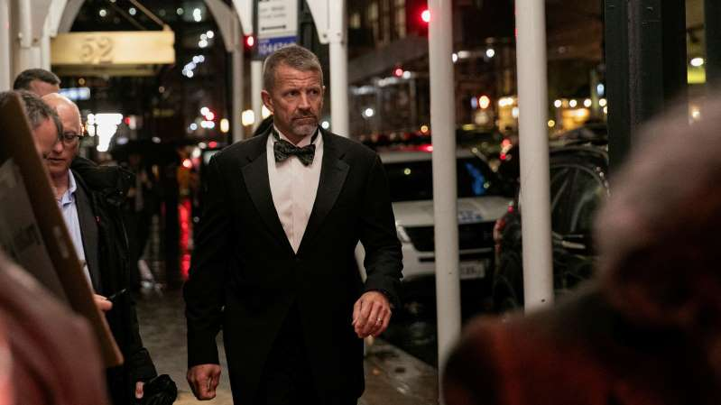 © Jeenah Moon/Reuters Erik Prince, the former head of Blackwater Worldwide and the brother of Education Secretary Betsy DeVos, has at times served as an informal adviser to Trump administration officials.